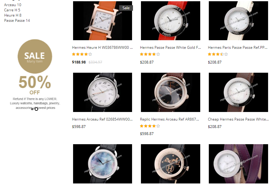 hermes replica watches ladies sale price