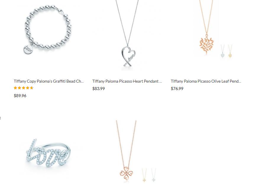Tiffany&co paloma-picasso clone price