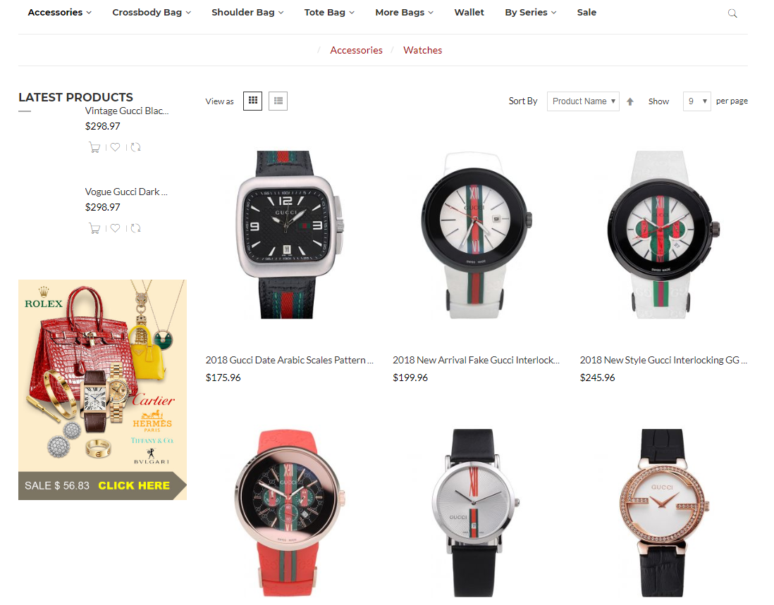 Gucci watch clone at topbiz.md