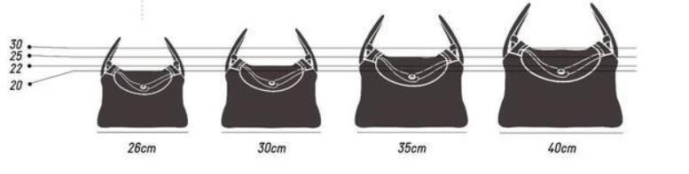 Hermès Lindy bag size